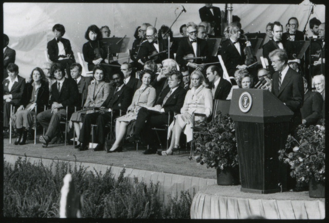 Opening Of The Jfk Library