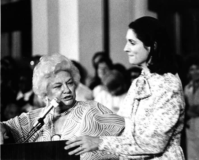 Diana Mara Henry Historic Photographs Of Liz Carpenter