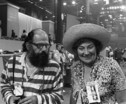 Bella Abzug and Allen Ginsberg