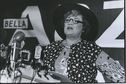 Bella Abzug for Mayor chin up