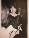 Lily Tomlin with reporter