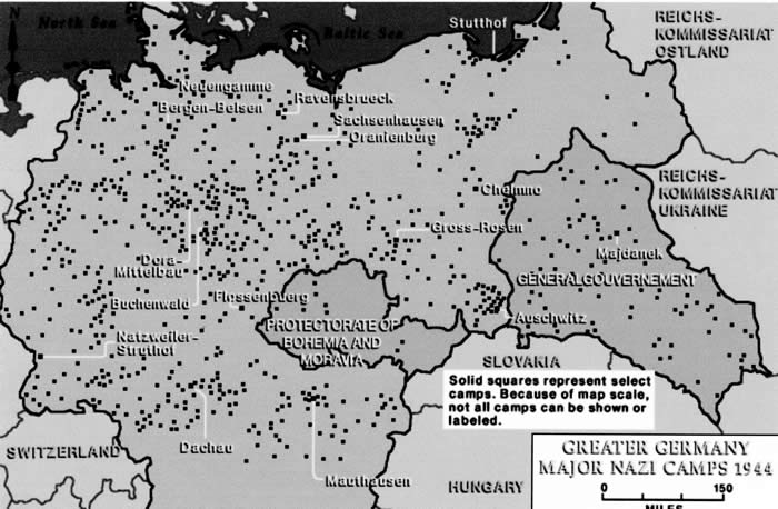Photographs Of Natzweiler Struthof - Germany map of concentration camps